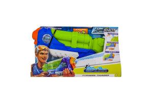 Бластер для дітей від 8 років водяний №01228 Typhoon Thunder X-Shot Zuru 1шт