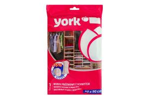 Мешок вакуумный York с вешалкой 60x90cм