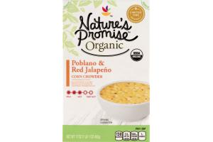 Nature's Promise Organic Poblano & Red Jalapeno