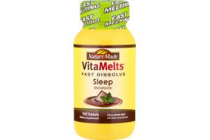 Nature Made Fast Dissolve Sleep Melatonin Chocolate Mint - 100 CT