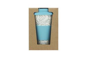 Чашка Eat&Drink бамбуковая 400мл D-02