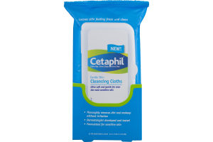 Cetaphil Cleansing Cloths - 25 CT