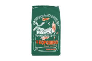 Мука пшеничная высшего сорта Кролевецький Комбінат Хлібопродуктів м/у 5кг