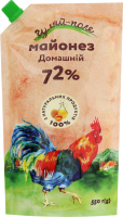 Майонез 72% Домашній Гуляй-поле д/п 550г