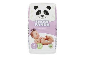 Підгузники для дітей розмір 4 7-18кг Сніжна панда 50шт