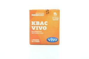 Закваски бактериальные Квас Vivo к/у 4х5г