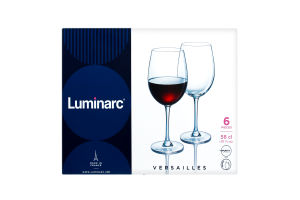 Келих Luminarc Versailles набір 6X580 мл