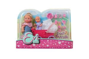 Кукла для детей от 3-х лет №6241 Doll Walk Evi love Simba 1шт