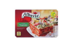 Лазанья замороженная овощная с сыром Vegetable Alberto к/у 400г