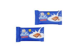 Цукерки з арахісом Milla міні плитка ChocoBoom кг