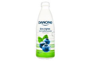 Йогурт 1.5% питний Чорниця Danone п/пл 800г
