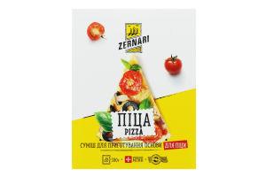 Суміш суха для приготування основи для піци Zernari к/у 500г