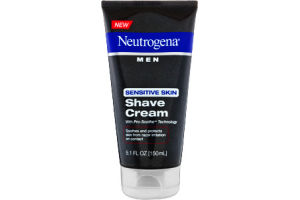 Neutrogena Men Pro-Smoothe Sensitive Skin Shave Cream