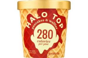 Halo Top Light Ice Cream Pancakes & Waffles