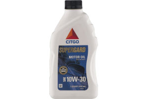 Citgo Supergard Motor Oil 10W-30