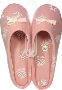 Тапочки-получешки комнатные женские Twins розовые 36-37