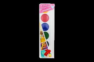 Краска акварельная Ранок Princess медовая 6 цветов