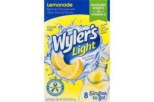 Wyler's Light Low Calorie Drink Mix Lemonade - 8 CT