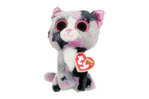 Мягкая игрушка TY Beanie Boo's Котенок Lindi, 15 см