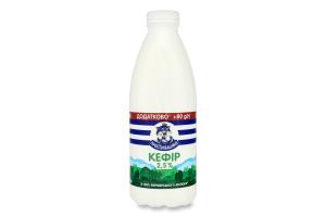Кефір 2.5% Простоквашино п/пл 950г