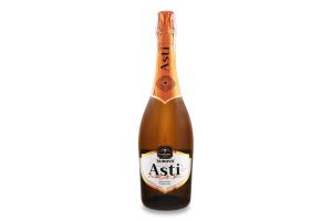 Вино ігристе 0.75л 10-13.5% біле солодке Salute Asti Tairovo пл