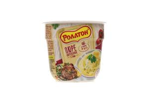 """Пюре картопляне """"Ролтон"""" зі смаком м'яса 37г /Ролтон/"""