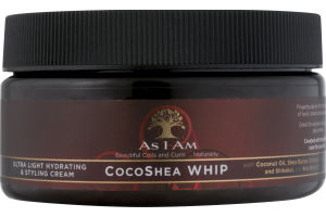 As I Am CocoShea Whip Hydrating & Styling Cream