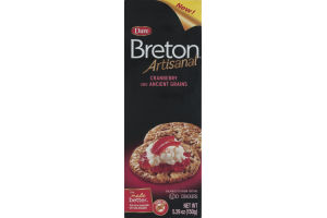 Dare Breton Artisanal Cranberry and Ancient Grains Crackers