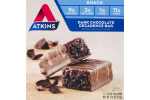 Atkins Dark Chocolate Decadence Bar - 5 CT