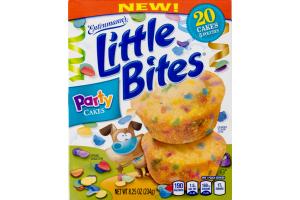 Entenmann's Little Bites Party Cakes - 5 PK