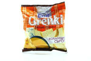 Гренки коллекция сыров Флинт м/у 80г