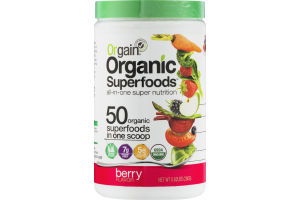 Orgain Organic Superfoods All-In-One Super Nutrition Berry