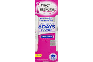 First Response Pregnancy Test & Confirm Pregnancy Test - 2 CT