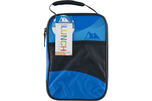 Arctic Zone Insulated Lunch Hard Liner Blue/Black