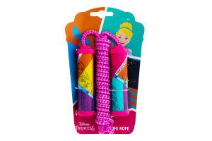 Скакалка для детей от 5лет №9846 Disney Princess 1шт