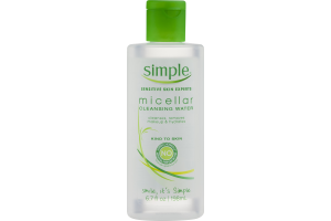 Simple Micellar Cleansing Water