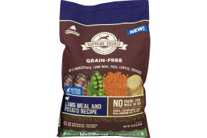 Supreme Source Grain-Free Dog Food Lamb Meal & Potato Recipe
