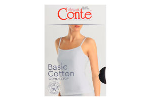 Топ жіночий Conte elegant Basic Collection №LT2019 170-84/XS black