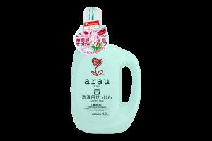 Жидкость для стирки детской одежды Saraya Arau с геранью, 1.2 л