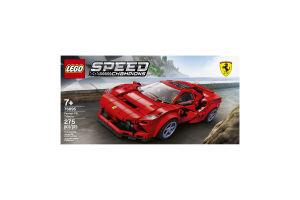 Конструктор для детей от 7лет №76895 Ferrari F8 Tributo Speed Champions Lego 1шт