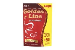 Кофе натуральный растворимый сублимированный Golden Line м/у 250г
