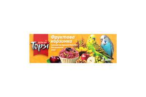 Десерт для попугаев Фруктовая корзинка Topsi к/у 3х15г