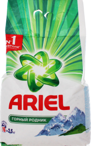 Порошок стиральный горный родник Ariel 2.5кг