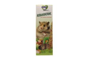 Корм Природа Колосок Горіховий для гризунів 140г