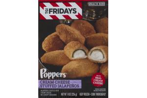 TGI Fridays Poppers Cream Cheese Stuffed Jalapenos