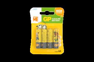 Батарейки АА LR6 Minions GP 4шт