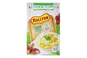 Пюре швидкого приготування картопляне зі смаком курки Rollton м/у 60г