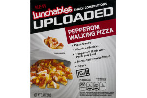 Lunchables Uploaded Snack Combinations Pepperoni Walking Pizza