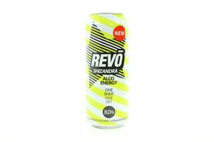 Напиток слабоалкогольный 0.5л 8% энергетический Revo Shizandra ж/б