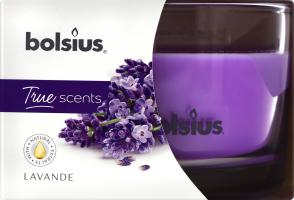 Свічка в склі 63/90 Lavender Bolsius 1шт
